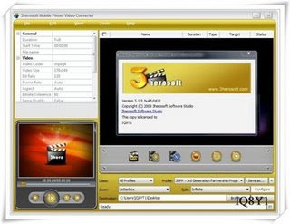 Download 3herosoft Mobile Phone Video Converter 3.1