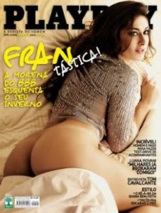 Revista Playboy - Francine BBB 9 - Junho/2009