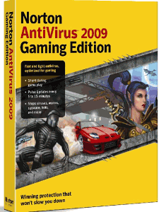 Norton AntiVirus 2009 Gaming Edition 16.1.0.33