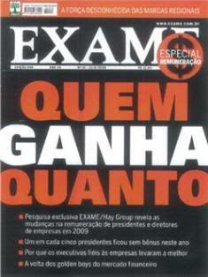 Download Revista Exame   12 de Agosto 2009
