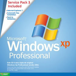 Download   Windows XP Pro PT BR SP3 + IE7 integrados [32 bits]