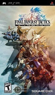 Final Fantasy Tactics: The War of the Lions - PSP