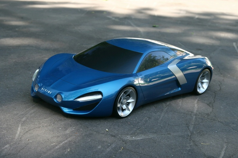 Hot Cars The Amazing Of 2010 Renault Alpine Sports Car