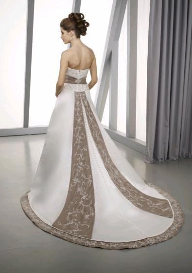 Elegance Of   Wedding Dresses : Wedding gown picture the amazing of elegant