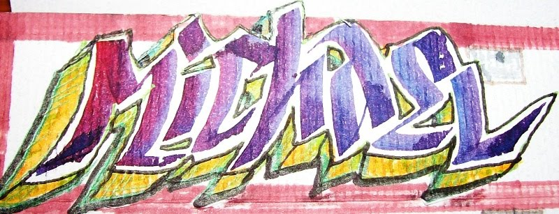 Francie Alberts Bredeson Locker Room Graffiti Card