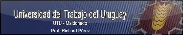 UTU - Prof. Richard Pérez Matemáticas