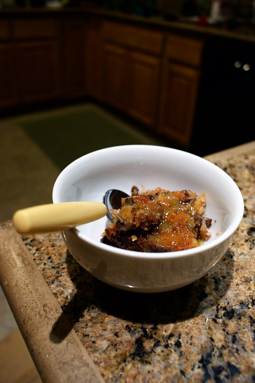 A Chemist In The Kitchen Bread Pudding And Whiskey Sauce