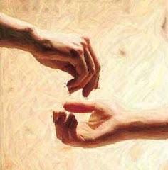 tangan diatas lebih baik dari tangan dibawah
