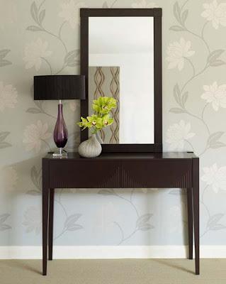 Soko Bamboo Vanity Set in Chocolate from Furniture123