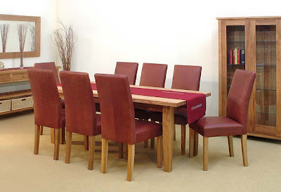 Christian Harold - Ardennes Leather Dining Set from Furniture 123
