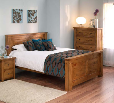Carolina Pine Bed from Furniture 123