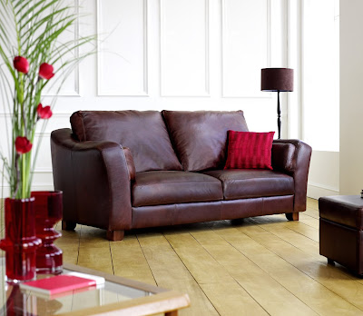 Piccadilly Leather 3 Seater Sofa