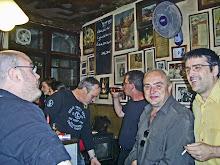 Con Jesús Tiscar ,Antonio Negrillo,Juanma Molina Damiani y Juan del Arco