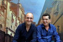 Con mi amigo Manuel Mateo Perez