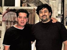 Con Gaspar Cortes Zarrias en su Estudio