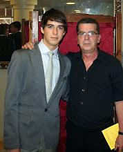 en la graduacion de mi hijo David