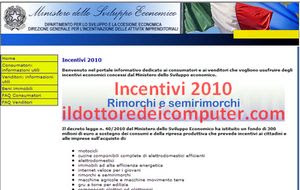 incentivi 2010 internet