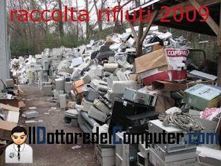 spazzatura informatica 2009 in Italia