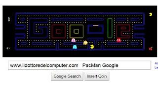 logo google pacman