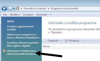 disabilitare internet explorer 8