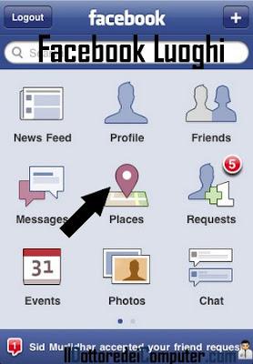 facebook luoghi