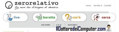 zerorelativo sito degli scambi
