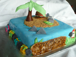 Meredith Scakes Jimmy Buffet Cake