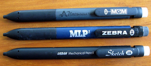 mechanical pencils unpackaged