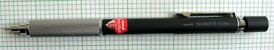 Uni Shift Mechanical Pencil extended