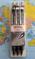 Rotring Tikky 3-pack mechanical pencils