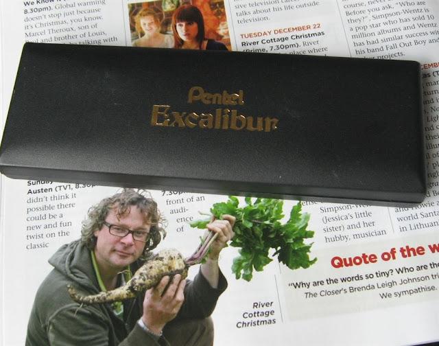 pentel excalibur case