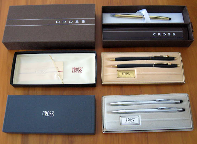 cross classic century pen pencil sets
