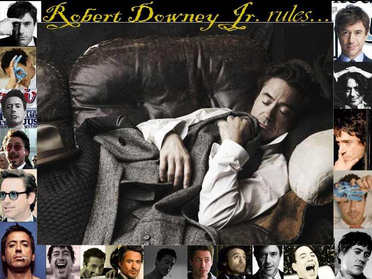 Robert Downey Jr. Rules