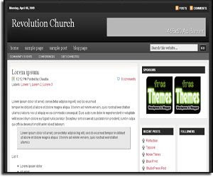 ChurchBloggerTheme