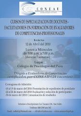 CURSO DE ESPECIALIZACIÓN DE DOCENTES CERTIFICACIÒN