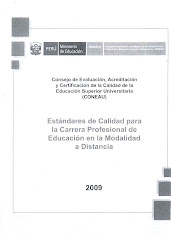 Estándares para Educación Modalidad a Distancia