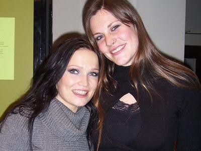 Tarja y amigos músicos Floortarja