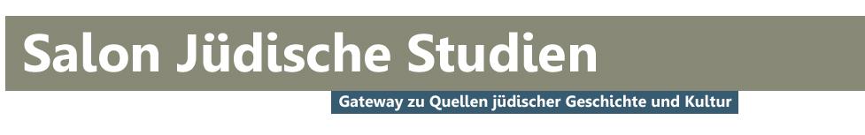 Salon Jüdische Studien - Auswahlbibliographie Jüdische Studien