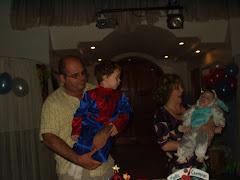 Cumpleaños de Tobias y Joaquin