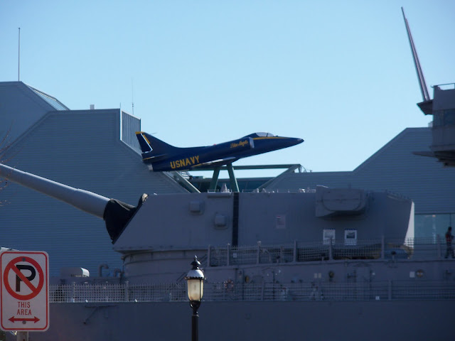 Blue's Angels on USS Wisconsin