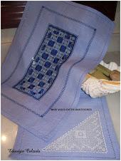 Mantel azul