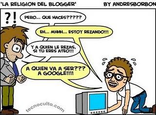 Imagen de la religión del blogger