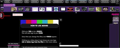 Imagen de la página de MoWid - buscador de vídeos