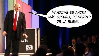 Imagen de Windows es seguro