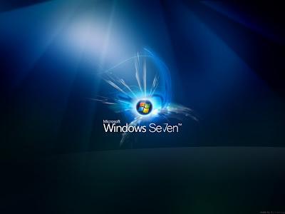Imagen de un wallpaper sobre Windows seven