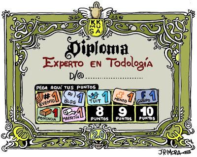 Imagen de un Diploma de Experto en Todología