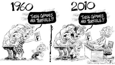 Imagen de Teachers In 1960 Compared To Teachers In 2010