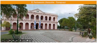 Imagen del Parlamento (Asunción - Paraguay)