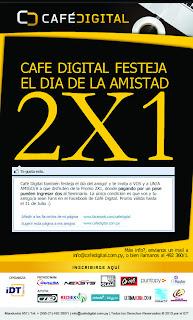 Imagen de la promo 2x1 del seminario de café digital