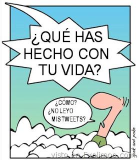 Imagen de Dios y twitter